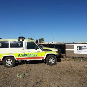 Ambulance Sponsorship Gregory Campdraft 062016