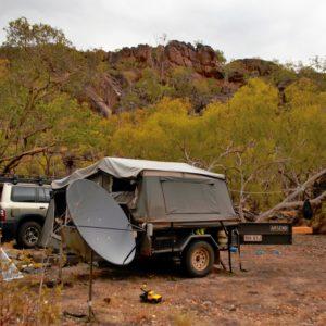 Satellite TV in the bush